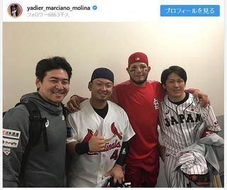 モリーナ+捕手三人衆.JPG
